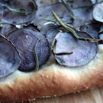 Purple Potato Pizza